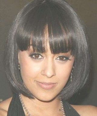 Bob Hairstyles With Bangs For Black Women
