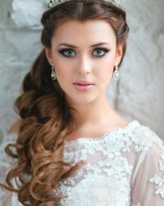 Wedding Hairstyles For Long Hair With A Tiara
