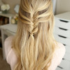 Mermaid Braid Hairstyles With A Fishtail (Photo 9 of 25)