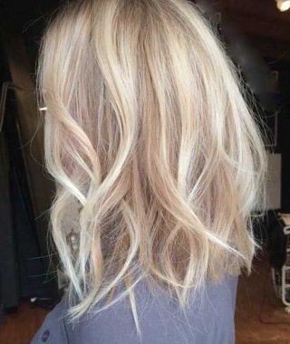 Bright Long Bob Blonde Hairstyles