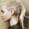 Blonde Teased Mohawk Hairstyles (Photo 10 of 25)