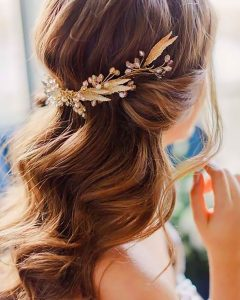 Wedding Hairstyles For Medium Length With Brown Hair