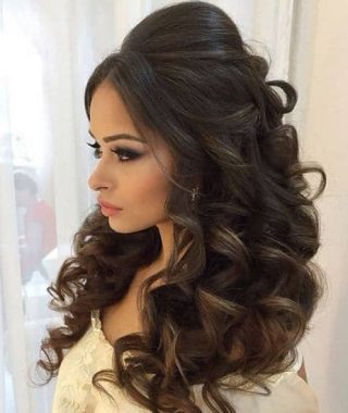 Long Hairstyles Indian