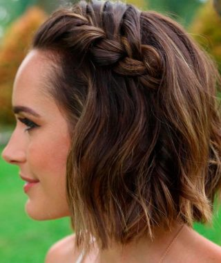 Long And Short Bob Braid Hairstyles