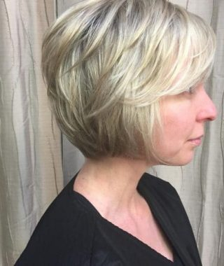 Short Bob Hairstyles With Feathered Layers
