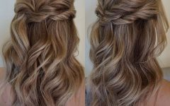 Half Up Half Down Updo Hairstyles