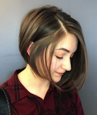 Short Hairstyles For Chubby Face