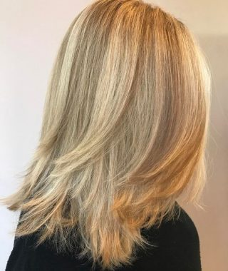 Long Texture-Revealing Layers Hairstyles