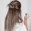 Simple Half Bun Hairstyles (Photo 2 of 25)