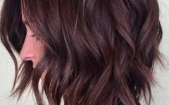 Chic Chocolate Layers Hairstyles