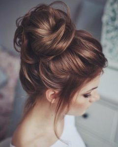 Article High Messy Bun Prom Hairstyles