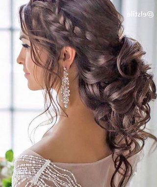 Long Hairstyles Pinned Up