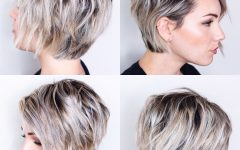 Short Bobs For Oval Faces