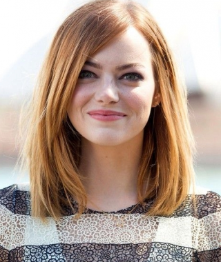 Straight Medium Hairstyles For Round Faces