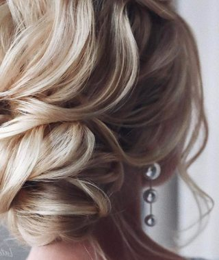 Tousled Prom Updos For Long Hair
