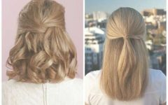 Medium Hairstyles Half Up Half Down