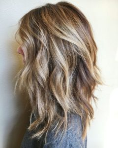 Platinum Tresses Blonde Hairstyles With Shaggy Cut