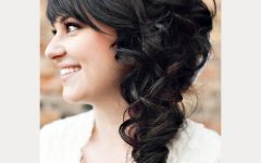 Wedding Hairstyles For Long Hair With Fringe