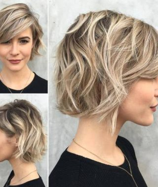 Edgy Textured Bob Hairstyles