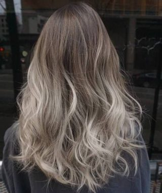 Ash Bronde Ombre Hairstyles