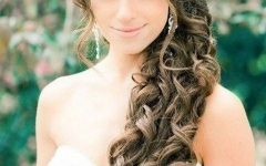Wedding Hairstyles For Long Hair With Side Swept