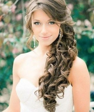 Wedding Hairstyles On The Side