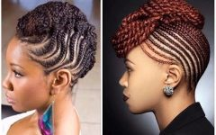 Natural Updo Hairstyles With Braids