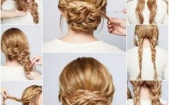 Updo Hairstyles For Thick Hair