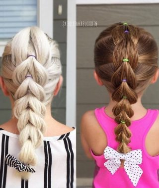 Easy Updo Hairstyles For Kids