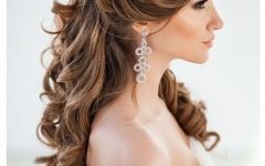Wedding Updos For Long Curly Hair