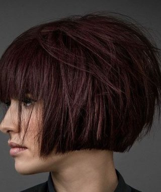 Modern Bob Hairstyles With Fringe