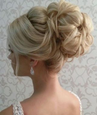 Long Hair Updo Hairstyles For Wedding