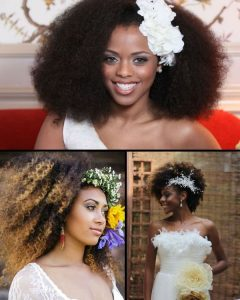 Wedding Hairstyles For Kinky Hair