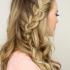 Three Strand Side Braid Hairstyles