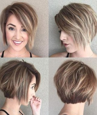 Simple, Chic And Bobbed Hairstyles