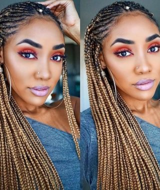 Cornrows Protective Hairstyles