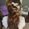 Accessorized Undone Waves Bridal Hairstyles (Photo 2 of 25)