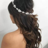 Crown Braid, Bouffant And Headpiece Bridal Hairstyles (Photo 2 of 25)