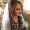 Veiled Bump Bridal Hairstyles With Waves (Photo 2 of 25)