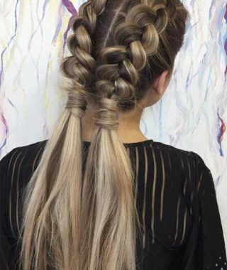 Long Hairstyles Plaits