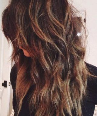 Textured Long Layers For Long Hairstyles