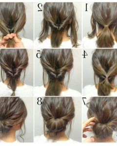 Easy Low Bun Updo Hairstyles