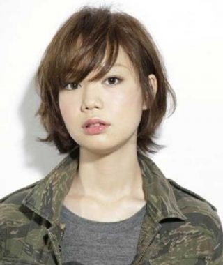 Boyish Shag Asian Hairstyles