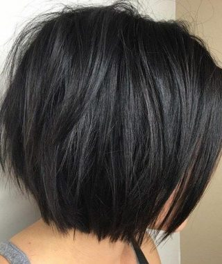 Uneven Layered Bob Hairstyles For Thick Hair