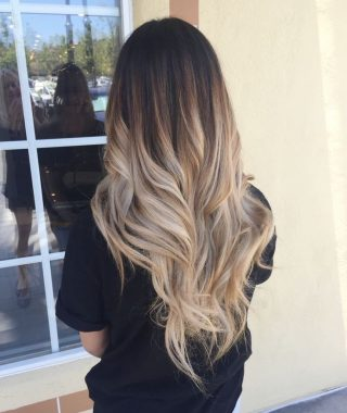 Ombre Long Hairstyles