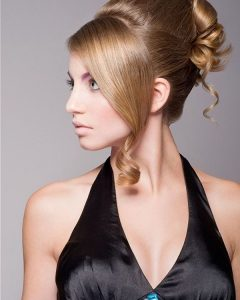 Brushed Back Beauty Hairstyles For Wedding