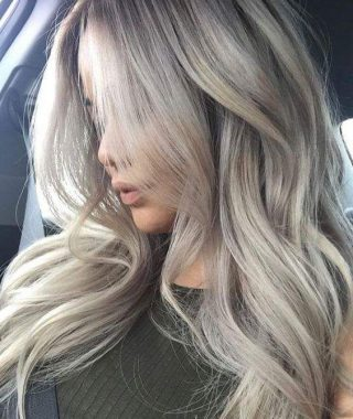 Light Ash Locks Blonde Hairstyles