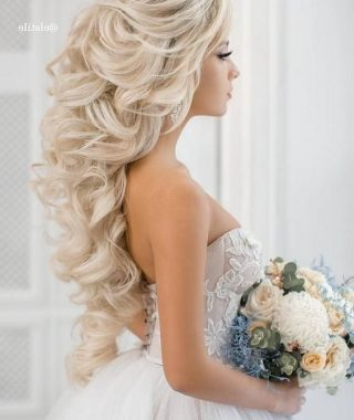 Wedding Hairstyles For Long Blonde Hair