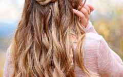 Braid Spikelet Prom Hairstyles