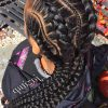 Thin And Thick Cornrows Under Braid Hairstyles (Photo 7 of 25)